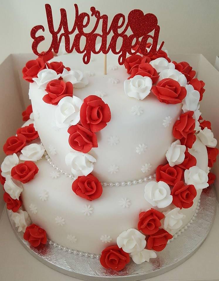 Engagement Cakes Wedding Cakes Middlesbrough